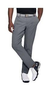 Under Armour Men's Showdown Vented Tapered Golf Pants Zinc Gray Sz 38/34