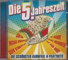 V/A Die 5. Jahreszeit CD, Karneval & Partyhits, Tim Toupet, Mickie Krause, Colör