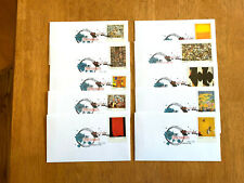 US FDC 2010 Abstract Expressioninsts 10 Unaddressed Uncacheted First Day Cvrs |