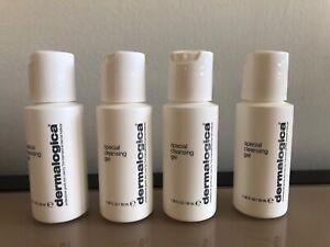 4x Dermalogica Special Cleansing Gel (1oz/30ml Each)Travel Set Total 4oz