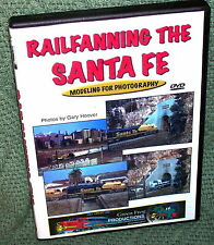 "cp081 MODEL RAILROAD VIDEO DVD ""RAILFANNING THE SANTA-FE"" GARY HOOVER"