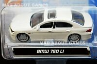 BMW 760 LI 1:64 Car (7,5 cm) Model Metal Diecast Models Cars Die Cast White