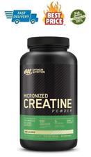 Optimum Nutrition Micronized Creatine Monohydrate Powder 300G 60 Servings US NEW