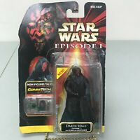Hasbro Star Wars Episode 1 Darth Maul Action Figure With CommTech Chip Talking