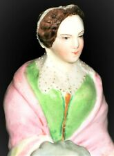 ANTIQUE FRENCH PARIS JEAN GILLE BEAUTIFUL LADY DOLL BISQUE PORCELAIN FIGURINE