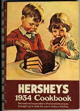 Hersheys 1934 Cookbook (Revised 1971) - Spiral Hardback