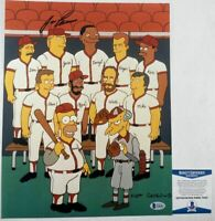 Jose Canseco Autographed The Simpsons 11x14 Photo B Signed BAS COA