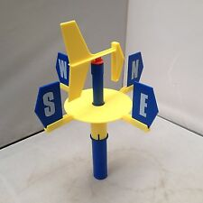 PLASTIC EDUCATIONAL WEATHER VANE SCHOOLS TEACHING LEARNING RESOURCES - NEW
