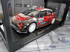 Citroen ds3 c3 rally wrc 2017 TDC Corse #9 ultraconservadora Total Abu Dhabi norev 1:18