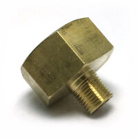 """1/8"""" Male x 1/2"""" Female Thicken Brass Thread Adapter Connector Pipe Fitting"""
