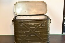 Military AMF Wyott Metal Insulated Cooler Ice Chest Mess Kit       2b