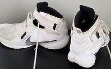 e99c87c79ff4 Nike Lebron Zoom Soldier IX 9 White Mens Basketball Shoes 749498-100 Size 14