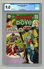 Hawk and Dove #1 CGC 9.0 1968 1497687023