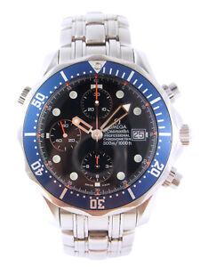 OMEGA Seamaster Professional 300m Full Size Automatic Date Watch 2599.80 w/Box