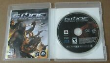 PS3 GI Joe Rise Of The Cobra Video Game PlayStation 3 Complete CIB
