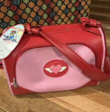 Pet Flys Carrier Airline Approved Pink & Red