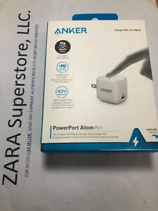 AAnker PowerPort Atom PD 1 Big Power, Small size 30W Power Delivery Wall Charger