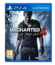 BRAND NEW UNCHARTED 4 A THIEF'S END PS4 PLAYSTATION 4 EXCLUSIVE GAME