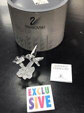 "Swarovski Crystal 7615 001 Hummingbird 2 3/8"" w/ BOX & COA"