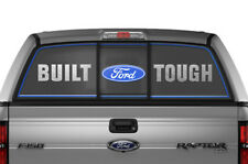 Ford F150 F 150 Window Vision Graphics Vinyl Sticker Decal 2009-2014 BFT BLUE