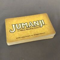 Jumanji Board Game Replacement Parts Pieces Only Milton Bradley 30 Danger Cards