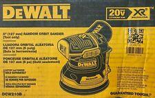 """NEW  Dewalt DCW210B 20V Max XR Brushless 5"""" Random Orbital Sander  (Tool Only)"""