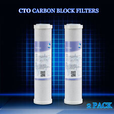 2pcs Carbon Filter refill for Counter Top Single Stage Drinking Water System