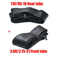 Front Tube 2.75/3.00-21 + Rear Tube 3.50/4.00-18 for 200cc 250cc Dirt Pit Bike