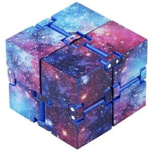 Infinity Cube, Anti-Stress Fidget Cube, Starry Sky Infinity Puzzle, Toy | UK