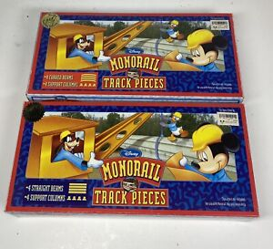 Walt Disney's World MONORAIL TRACK PIECES Playset Theme Park Toy Accessory Boxed