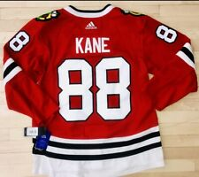 02695740e64 ADIDAS PATRICK KANE CHICAGO BLACKHAWKS AUTHENTIC PRO ON ICE JERSEY $225  SIZE 46