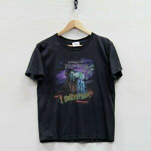 Vintage Twilight Zone Tower of Terror Disney T-Shirt Youth Size Large Black