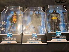 "DC Multiverse ROBIN DC Rebirth Damian Wayne McFarlane Toys 7"" Inch Figure 2021"