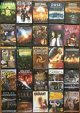 Wholesale Lot 25 New Sci Fi DVD Vegas in Space Caprica Doomsday New Gladiators