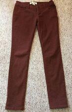 Lola Brand Juniors Size 9 Leopard Print Skinny Jeans Cheetah JN26