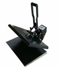 110v Manual 1624 Flat Heat Press Machine T Shirts Transfer Printing Art Office