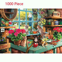 1000 Piece Cute Cats Jigsaw Puzzle Puzzles For Adults Kids Learning Education UK