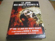 """COFFRET 2 DVD NEUF """"LE JOUR DES MORTS VIVANTS 1 & 2 : CONTAGIUM"""" horreur"""