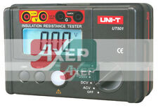 Insulation Resistance Meter Ground Tester Megohmmeter Voltmeter LCD UNI-T UT501