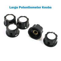 Drehknopf 6mm Potentiometer Plastik Poti knopf Regler Drehknöpfe Einstellknopf