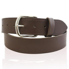"""NEW MENS REAL GENUINE LEATHER BELT 1"""" & 1.25"""" & 1.5"""" WIDE BELTS SIZES 26-55"""""""