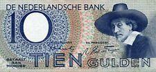 biljet 10 gulden1943