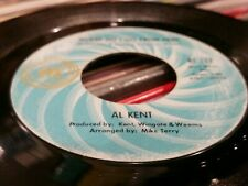 AL KENT Where Do I Go From Here / You've Got To Pay.. NORTHERN SOUL 45 (Ric Tic)