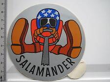 Aufkleber Sticker Salamander - Schuhe - Stiefel - Leder (6472)