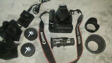 Canon EOS Rebel T3I 18 MP Digital SLR Camera - Black (Body Only) with extras