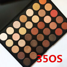 UK SELL 35 colour pigmented Shimmer eyeshadow palette 35 OS nature Glow Morphe
