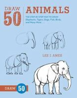 DRAW 50 ANIMALS - AMES, LEE J. - NEW PAPERBACK BOOK