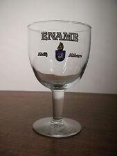 Bicchiere Belgio BIRRA ABBAYE ENAME 0,33 Vintage Beer Glass Verre Biere