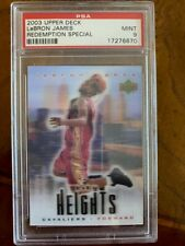 2003 LeBron James UD Upper Deck Rookie Redemption Special City Heights RC PSA 9