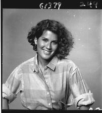 BLAIR TEFKIN SMILING V THE VISITORS RARE ORIGINAL 1984 NBC TV PHOTO NEGATIVE